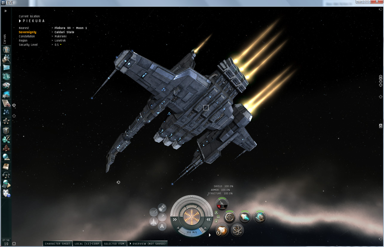 Yarr like a Pirate in EVE Online
