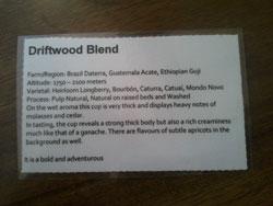 Driftwood Blend