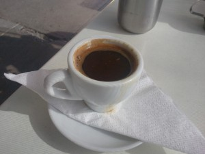 Greek Coffee at Eros