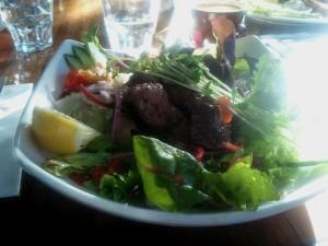 Warm Lamb Salad