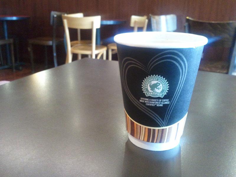Black Coffee at Gloria Jeans