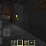 Minecraft mine on mobile