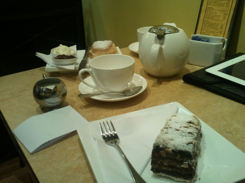 Tea Centre Tea and Cake