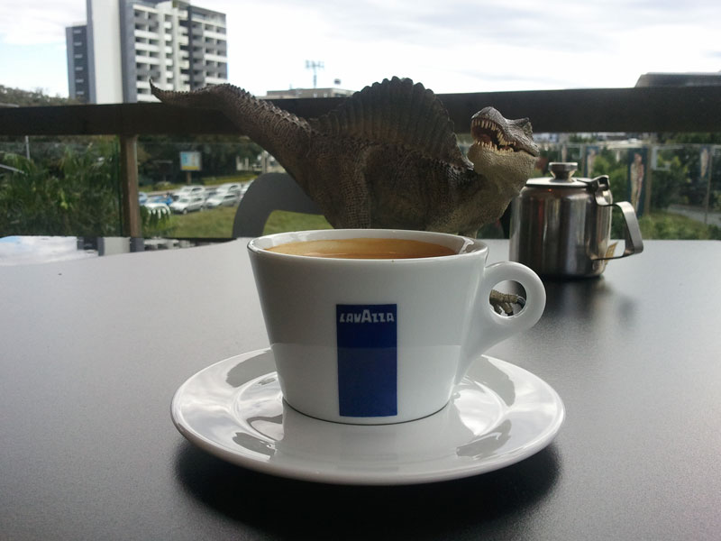 Dinosaurs and Coffee