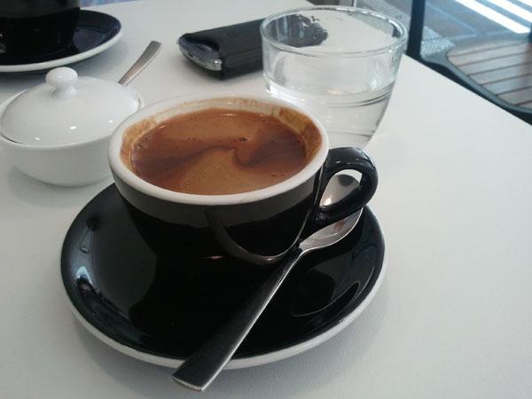 Black Coffee at Pour Boy Espresso