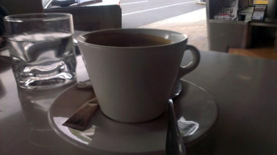 Black coffee at Salt
